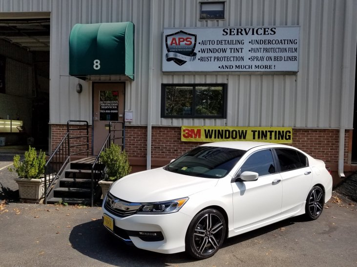 Honda Window Tint - Automoitve Protection Servcies
