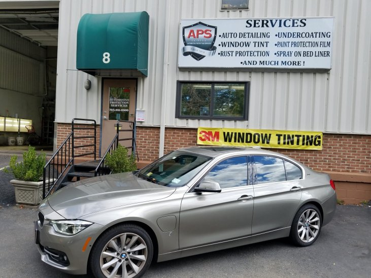 BMW Window Tint - automotive protection services