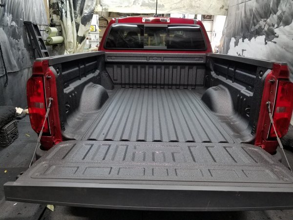 Automotive Protection Services Spray in Bedliner
