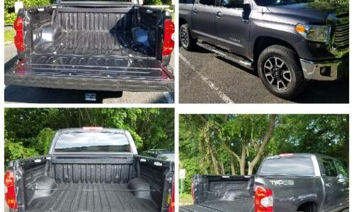 Before and after - Spray-in-Bedliner